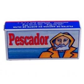 Anchovies Pescador Oil 125 Grs