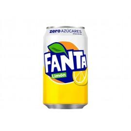 Fanta Limón Zero Lata 330ml