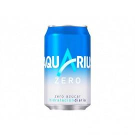 Aquarius Bebida Isotónica Sin Azúcar Lata 330ml pack 8
