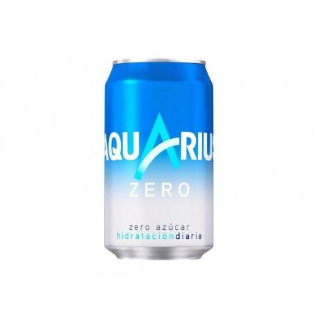 Aquarius Bebida Isotonica Sin Azucar Lata 330ml