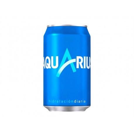 Aquarius Bebida Isotónica Lata 330ml pack 8
