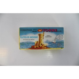 Anchovies Torre 125 Grs