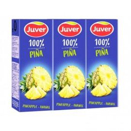 Juver Ananassaft Packung 3x200ml