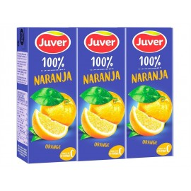 Juver Zumo de Naranja Pack 3x200ml