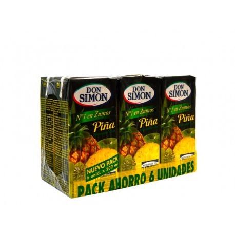 Don Simon Zumo de Piña Pack 6x200ml