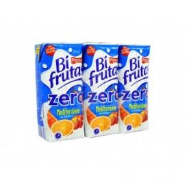 Pascual Zumo de Frutas y Leche Mediterraneo Zero Bifrutas Pack 3x330ml