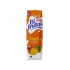 Pascual Zumo de Frutas y Leche Tropical Bifrutas Brik 1l
