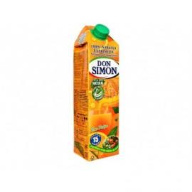 Don Simon Zumo de Naranja con Pulpa Brik 1l