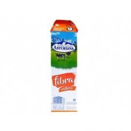 Central Lechera Asturiana Leche Fibra Regula Botella 1l