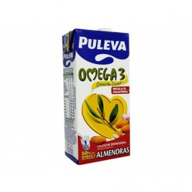 Puleva Leche Desnatada de Almendras con Omega 3 Brik 1l