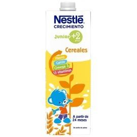 Nestlé Leche de Crecimiento Original con Cereales +2 Años Brik 1l