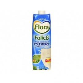 Flora Leche Original Folic B Brik 1l