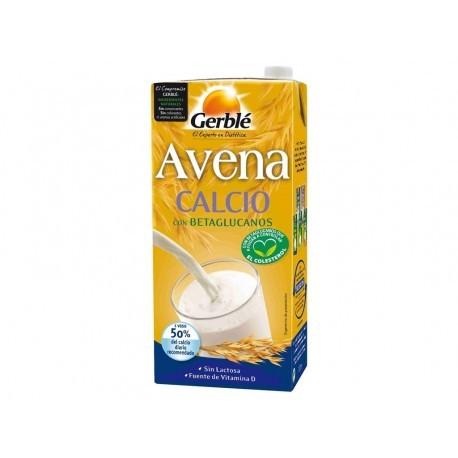Gerblé Bebida de Avena Calcio Brik 1l
