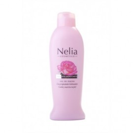 Nelia Hydrating Shower Gel with Roses 750 ml bottle