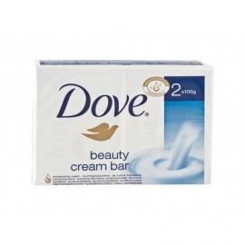 Dove Jabón de Manos Beauty Cream Bar Pack 2x100g