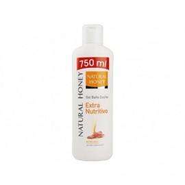 Natural Honey Extra nourishing shower gel with 100% natural honey 750 ml bottle