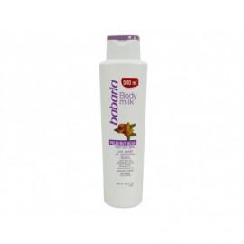 Crème corporelle à l'huile d'amande peau sèche Babaria bouteille de 500 ml