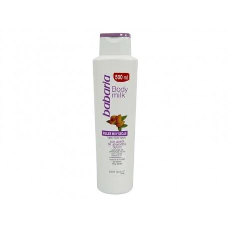 Babaria Almond oil body cream for dry skin 500 ml bottle