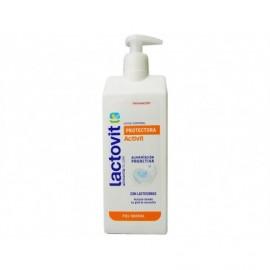 Lactovit Protective body milk Activit Normal skin 400ml pump