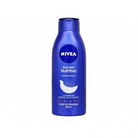 Lait corporel nourrissant pour peaux sèches ou très sèches Nivea bouteille de 400 ml