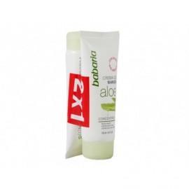 Crème pour les mains concentrée à l'aloès Babaria pack 2 x 100 ml