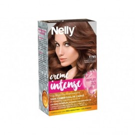 Nelly Tinte Marrón Avellana 7/95 Creme Intense Caja 1ud