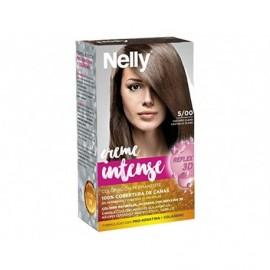Hellbrauner Haarfärbemittel 5/00 Intensive Creme Nelly box 1 einheit