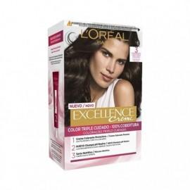 L' ORÉAL Excellence Creme No3 Dark Brown Hair Color Box 1 unit