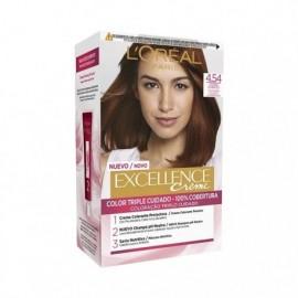 Excellence Creme No4,54 Haarfärbemittel Mahagoni Kupfer L' ORÉAL box 1 einheit