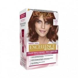 L' ORÉAL Excellence Creme No5,6 Hair coloring Mahogany Box 1 unit
