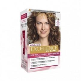 L' ORÉAL Excellence Creme No6 Dark Blonde Hair Color Box 1 unit