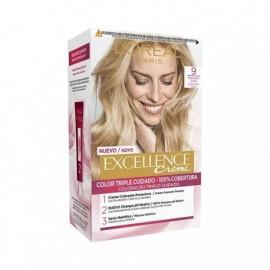 L' ORÉAL Excellence Creme No9 Very Light Blonde Hair Color Box 1 unit