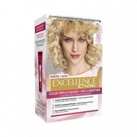 Excellence Creme Nr. 10 Sehr hellblonde Haarfarbe L' ORÉAL box 1 einheit