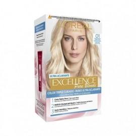 L' ORÉAL Excellence Creme No 01 Ultra Light Blonde Hair Color Box 1 unit