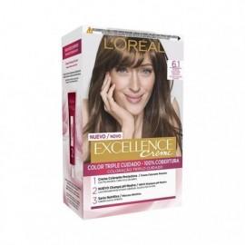 L' ORÉAL Excellence Creme No 1.1 Dark Ash Blonde Hair Color Box 1 unit