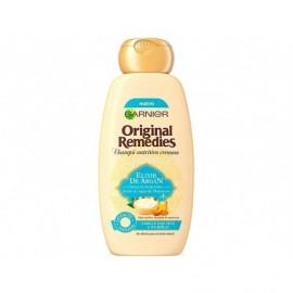 Shampooing Original Remedies Argan Elixir Garnier bouteille de 300 ml