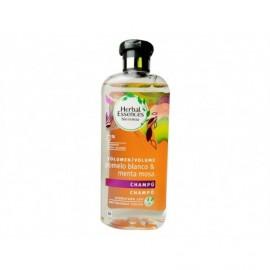 Herbal Essences Organic Shampoo: Renew White Grapefruit and Mint Mosa 400 ml bottle