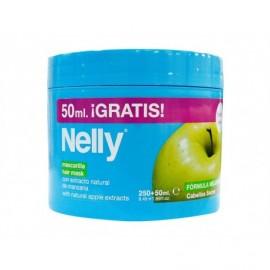 Nelly Mascarilla con Extracto de Manzana Cabellos Secos Bote 250ml + (50% Gratis)