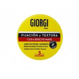 Cire cheveux Effet Mat Tenue Extra Forte Giorgi bouteille de 75 ml