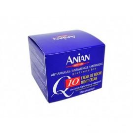 Anian Crema Facial Q10 Noche Antiarrugas Tarro 50ml