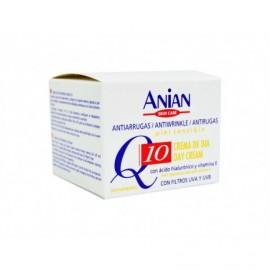 Anian Crema Antiarrugas Q10 Ácido Hialurónico-Vitamina E Tarro 50ml