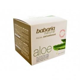 Babaria Crema Facial Antiarrugas con Aloe Vera Bote 50ml