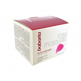 Babaria Crema Facial Antiarrugas Lifting Rosa Mosqueta Bote 50ml