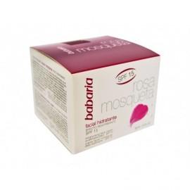 Babaria Crema Facial Hidratante Reafirmante Rosa Mosqueta Bote 50ml
