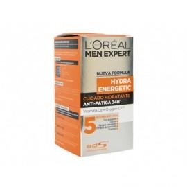 Crème Visage Anti-Fatigue Hydra Energetic L' ORÉAL Men Expert bouteille de 50 ml