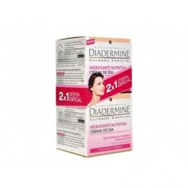 Pflegende Feuchtigkeitscreme für trockene und empfindliche Haut Diadermine 50ml flasche - 2x1 pack