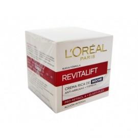 L' ORÉAL Riche Revitalift Anti-Wrinkle Night Facial Cream 50 ml bottle