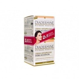 Diadermine Anti-aging double action anti-wrinkle day cream 50ml bottle - 2x1 pack