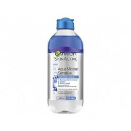 Démaquillant pour les yeux et la peau Micellar Sensitive Water Garnier bouteille de 400 ml
