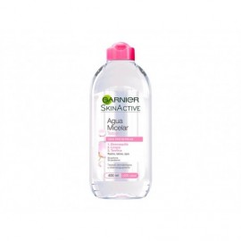 Garnier Micellar water eye makeup remover 400 ml bottle